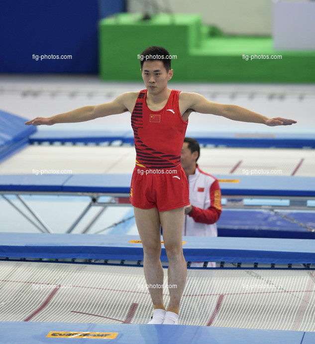 TRA WCh St. Petersburg/RUS 2018: GAO Lei CHN