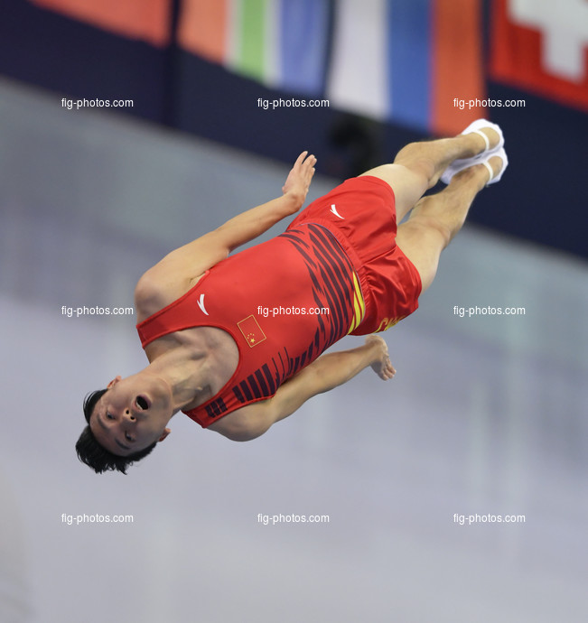 TRA WCh St. Petersburg/RUS 2018: DONG Dong CHN