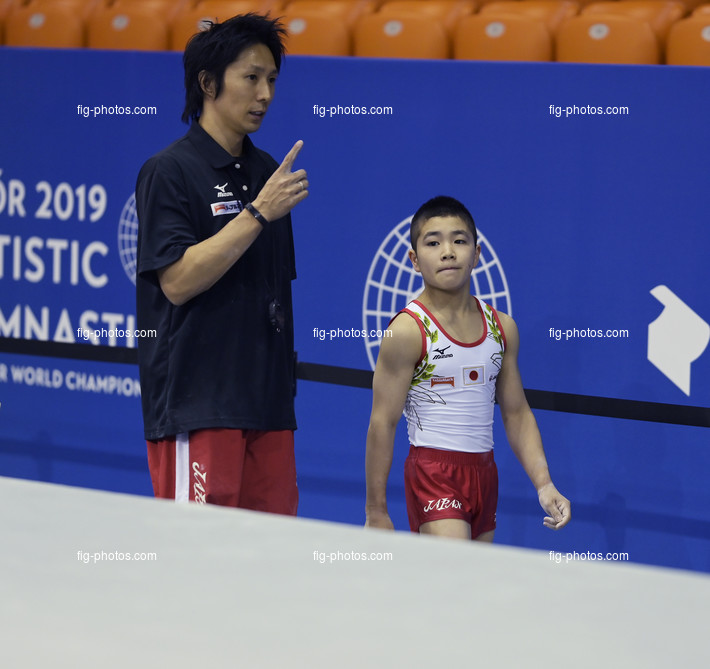 ART-Junior WCh Györ/HUN 2019:  OKA Shinnosuke JPN