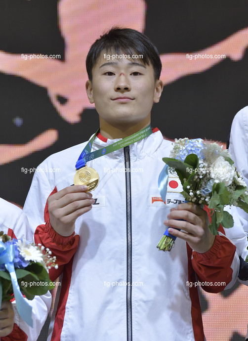 ART-Junior WCh Györ/HUN 2019: KITAZONO Takeru JPN