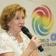 World Gymnaestrada Dornbirn/AUT 2019: opening press conference, HINTERAUER Marie-Louise