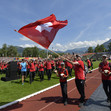 World Gymnaestrada Dornbirn/AUT 2019: opening ceremony at Birkenwiese stadium