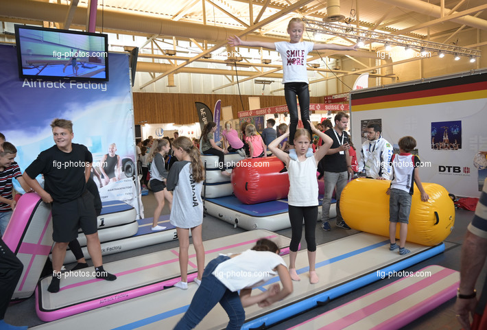 World Gymnaestrada Dornbirn/AUT 2019: sport and leisure fair, SPIETH