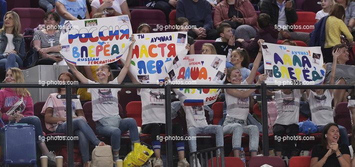 Junior RG WCh Moscow/RUS 2019: spectators