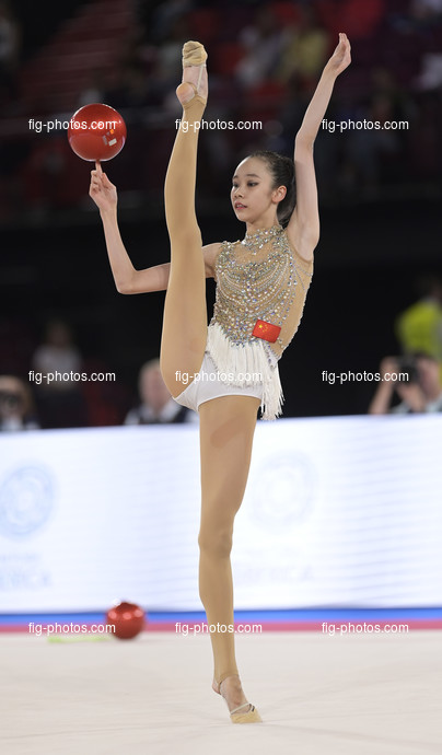 Junior RG WCh Moscow/RUS 2019: ZHAO Yue CHN