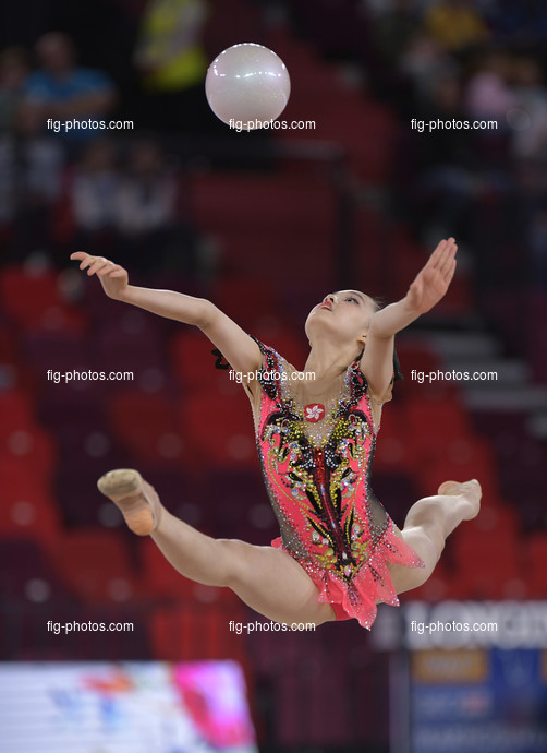 Junior RG WCh Moscow/RUS 2019: LO Wing Lam HKG