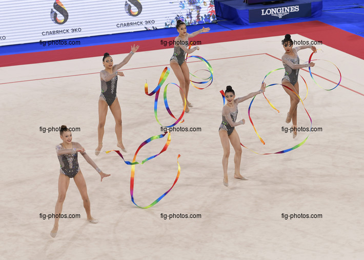 Junior RG WCh Moscow/RUS 2019: group BRA