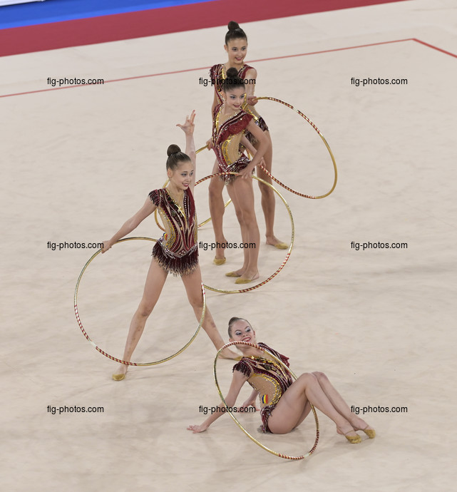 Junior RG WCh Moscow/RUS 2019: group ROU