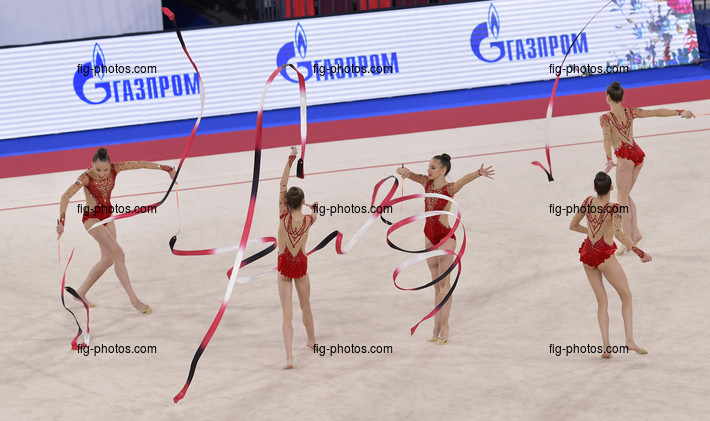 Junior RG WCh Moscow/RUS 2019: group BUL