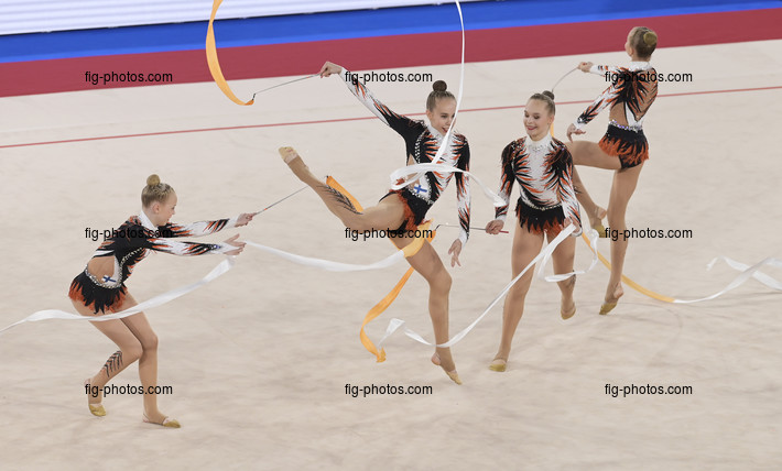 Junior RG WCh Moscow/RUS 2019: group FIN