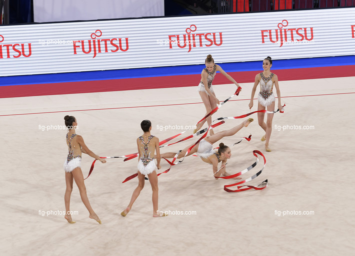 Junior RG WCh Moscow/RUS 2019: group ESP