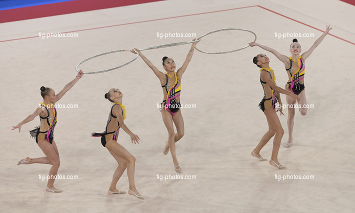 Junior RG WCh Moscow/RUS 2019: group KAZ