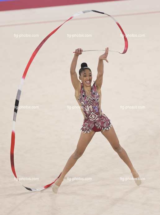 Junior RG WCh Moscow/RUS 2019: WAGGIE Laylah NZL