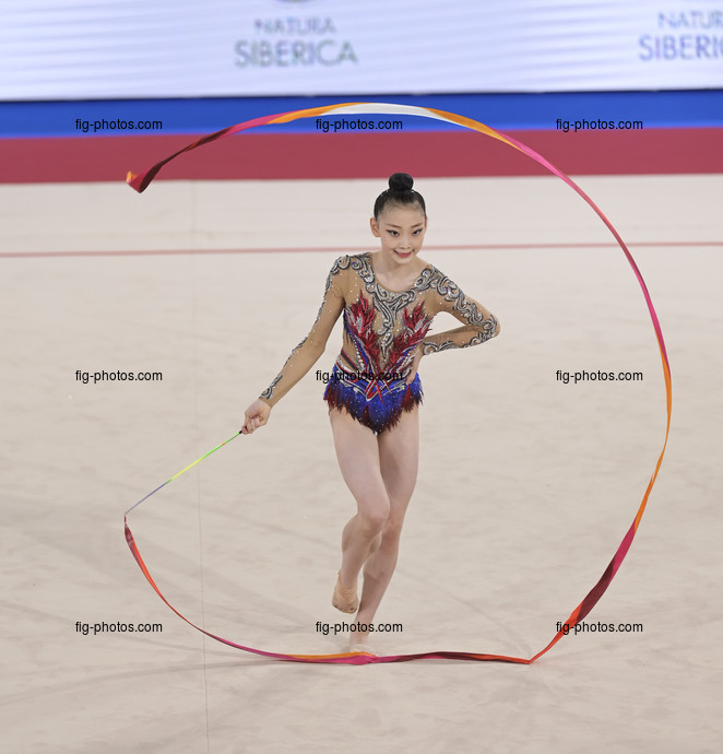 Junior RG WCh Moscow/RUS 2019: LEE Yewon KOR