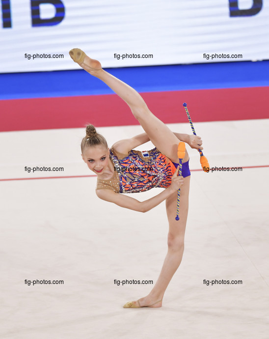 Junior RG WCh Moscow/RUS 2019: