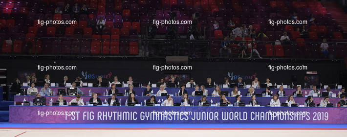 Junior RG WCh Moscow/RUS 2019: judges