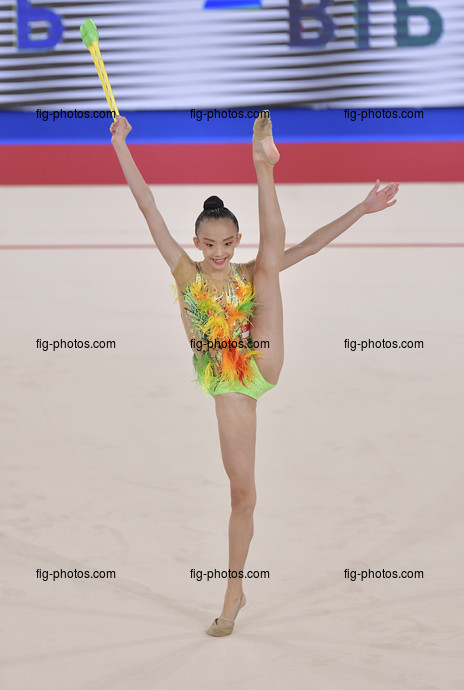 Junior RG WCh Moscow/RUS 2019: LIN Angeline SGP