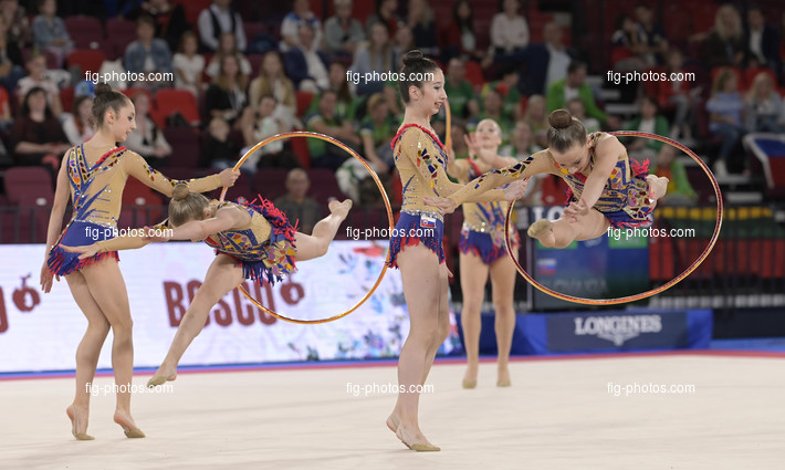 Junior RG WCh Moscow/RUS 2019: group SVK