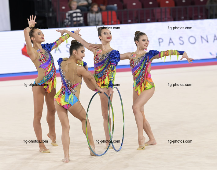Junior RG WCh Moscow/RUS 2019: group USA