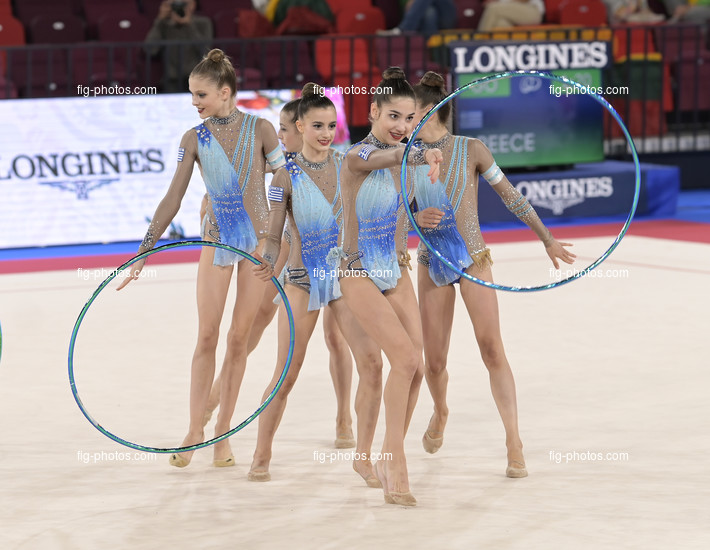 Junior RG WCh Moscow/RUS 2019: group GRE