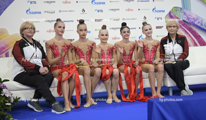 Junior RG WCh Moscow/RUS 2019: group GER