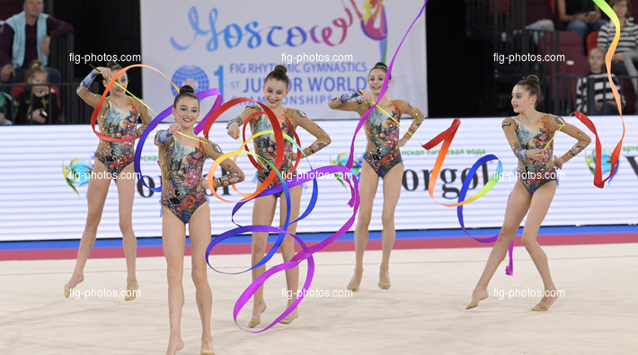 Junior RG WCh Moscow/RUS 2019: group ITA