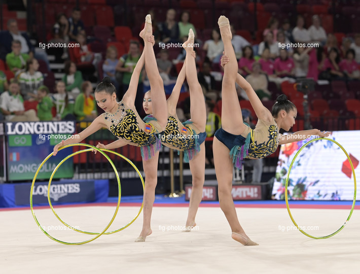 Junior RG WCh Moscow/RUS 2019: group MGL