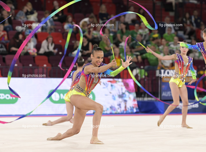 Junior RG WCh Moscow/RUS 2019: group ISR