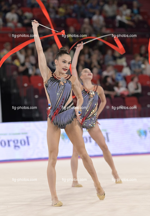 Junior RG WCh Moscow/RUS 2019: group EST