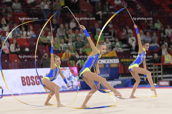 Junior RG WCh Moscow/RUS 2019: group UKR