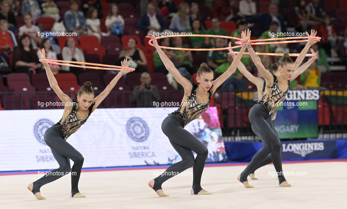 Junior RG WCh Moscow/RUS 2019: group HUN
