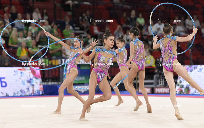 Junior RG WCh Moscow/RUS 2019: group AZE