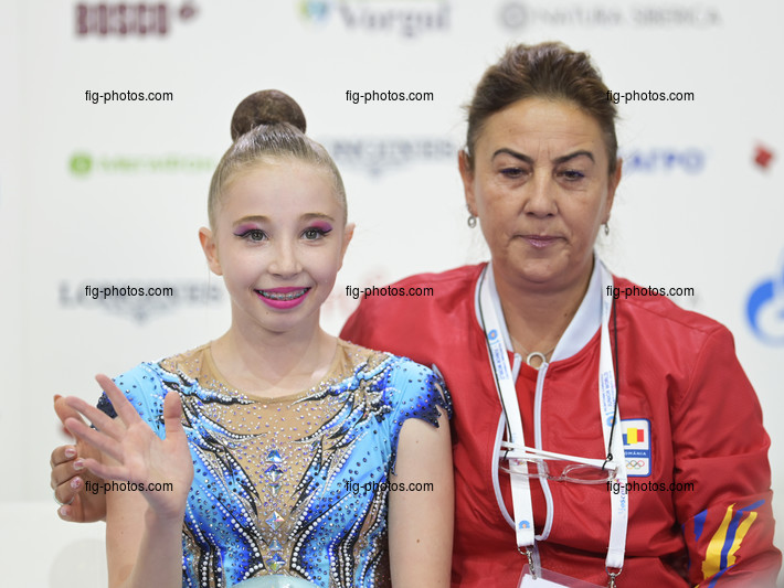 Junior RG WCh Moscow/RUS 2019: ANITEI Laura ROU
