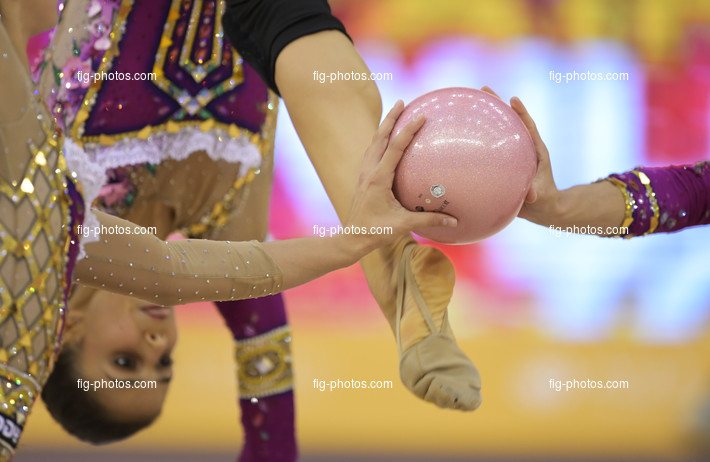 RG WCh Baku/AZE 2019: detail ball