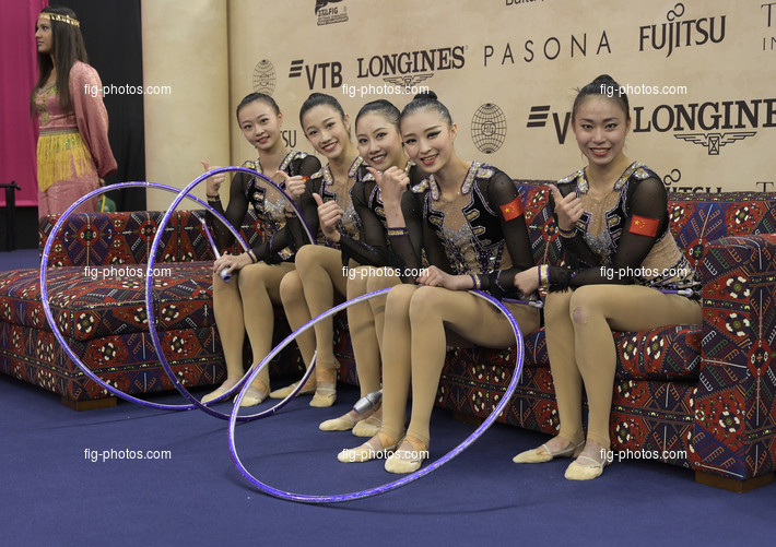 RG WCh Baku/AZE 2019: group CHN
