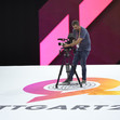 ART-WCh Stuttgart/GER 2019: camera man at logo