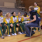 Aerobic-WC Rodez: team RSA during interview