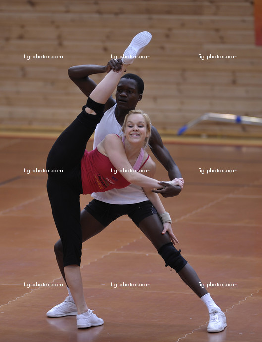 Aerobic-WC Rodez: Mixed pair RSA.
