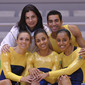 Aerobic-WC Rodez: team BRA