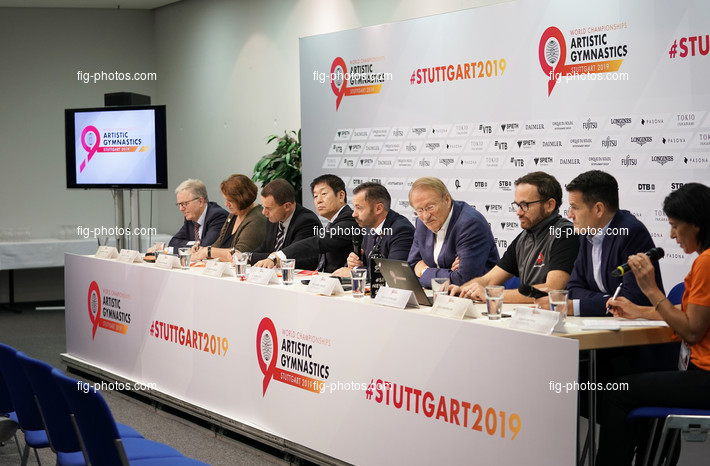 ART-WCh Stuttgart/GER 2019: press conference