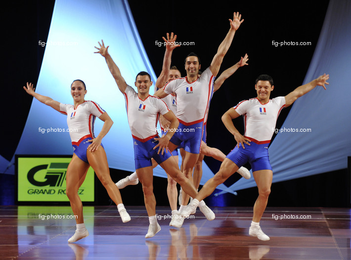 Aerobic-WC Rodez: group FRA1