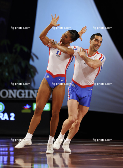 Aerobic-WC Rodez: RAPHAEL Eugenie, OUBRIER Gaylord/FRA