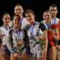 Aerobic-WC Rodez: podium mixed pairs