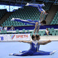 Acrobatic-WC in Wroclaw/POL: podiumtraining CHN