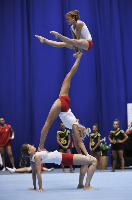 Acrobatic-WC in Wroclaw/POL: women's group POL