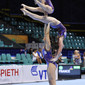 Acrobatic WCh 2010 Wroclaw/POL: LE CORRE Sarah DUPIRE-BETOULE Christal EOUZAN Maxine/FRA1