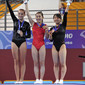 YOG 2010 Singapore: podium trampoline women