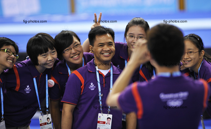 YOG 2010 Singapore: volunteers