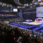 Rhythmic WCh Moscow/RUS 2010: Olympisky Complex     overview