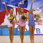 Rhythmic WCh Moscow/RUS 2010: podium all-around